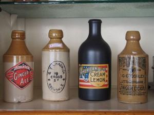 陶器ボトル